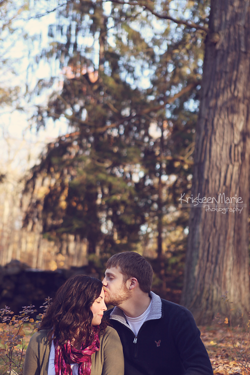 Kissing in the Fall
