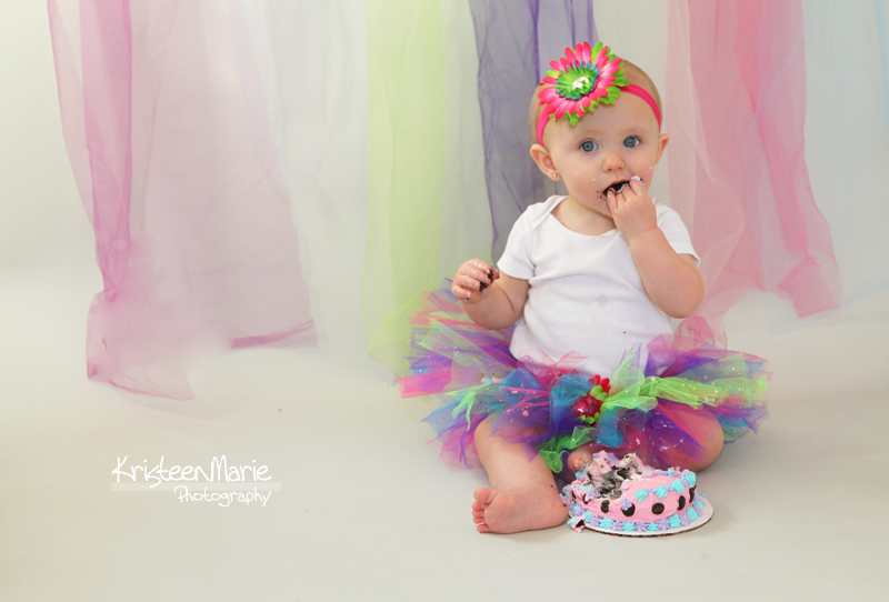 First Year Cake Smash Picture