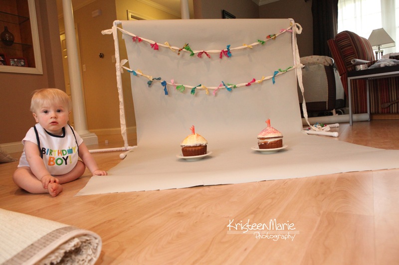Behind the Scenes of a Cake Smash Photography Session