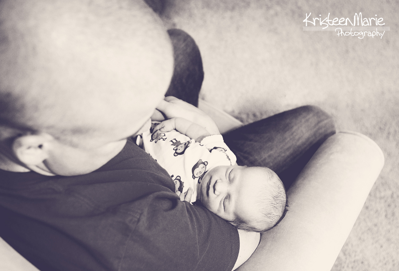 Sleeping Newborn - Lifestyle Picture