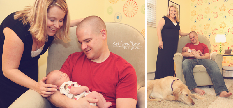 Lifestyle Newborn Photography Indianapolis