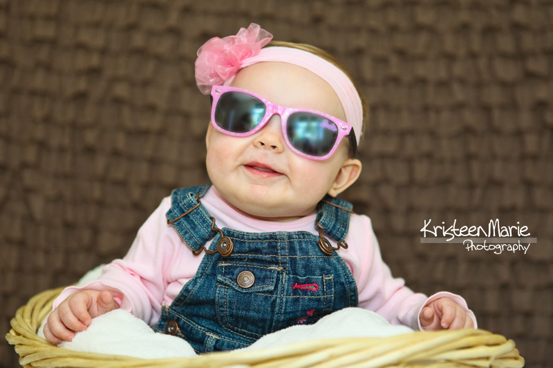 Little Lady in Sun Glasses