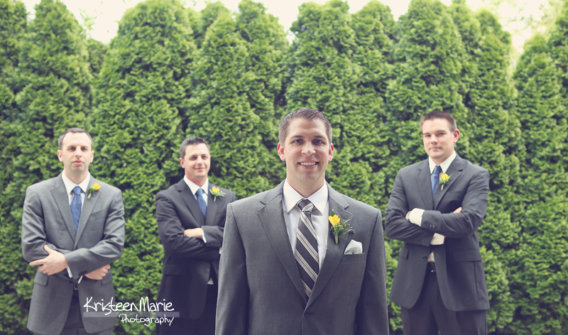 The Groom and Groom's Men