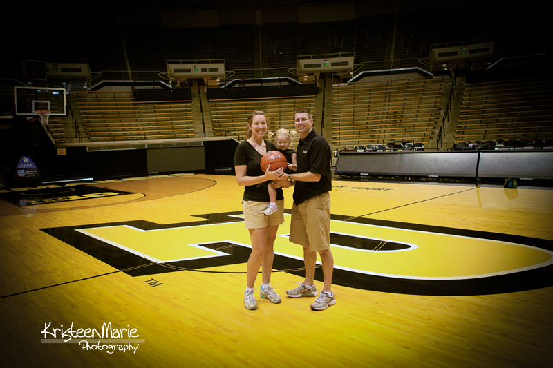 Family at Purdue