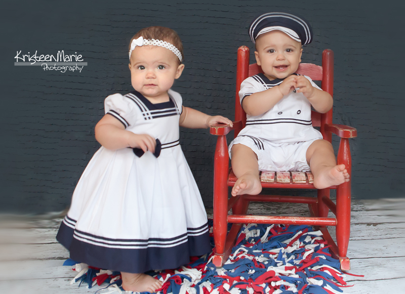 Sailor Twin Babies