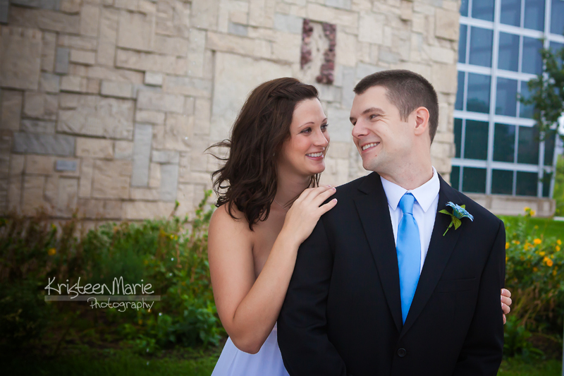 wedding at indiana state museum