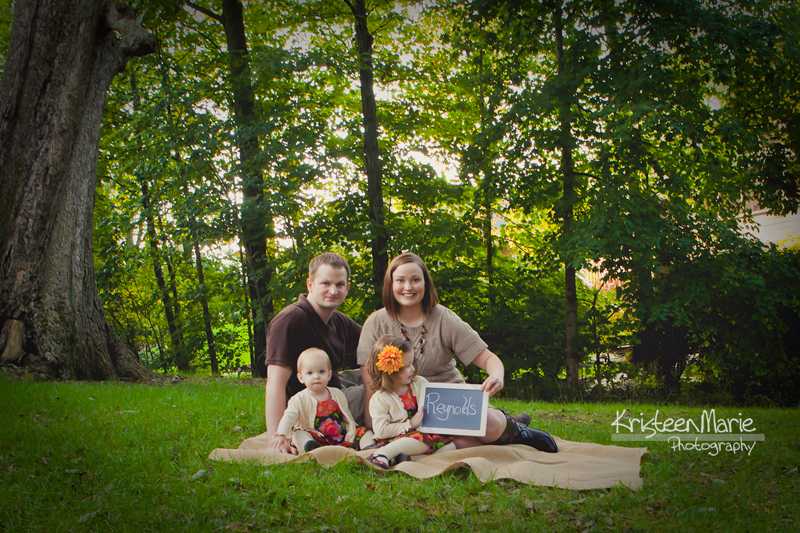 Fun Fall Family Picture