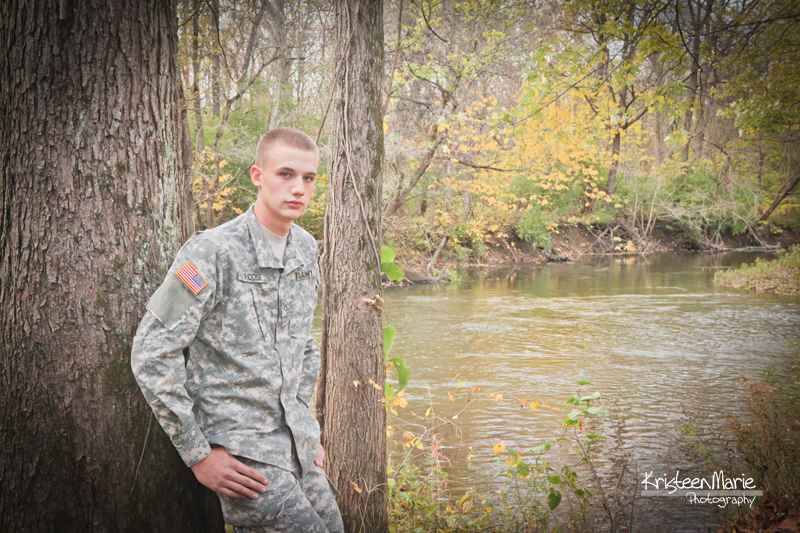 Army Senior Picture