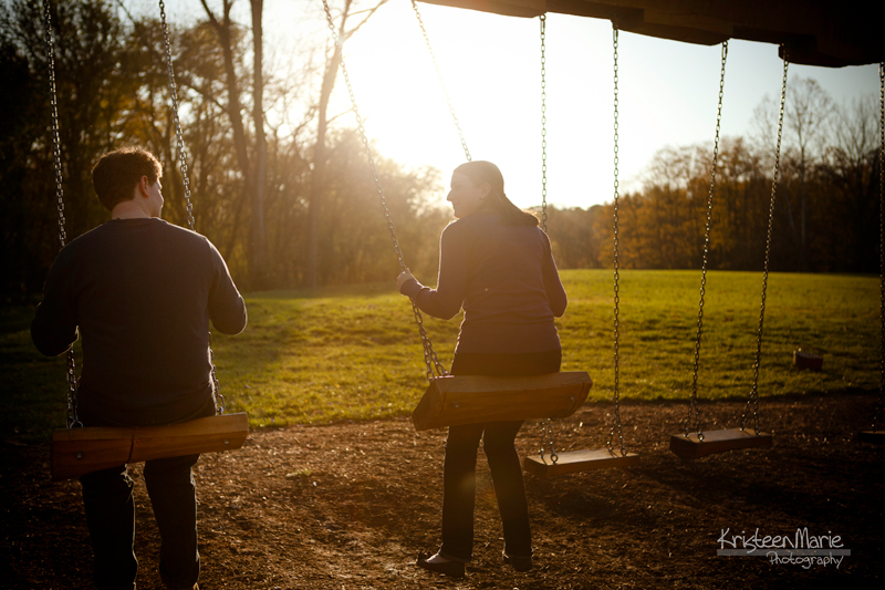 Swings Engagement Picture