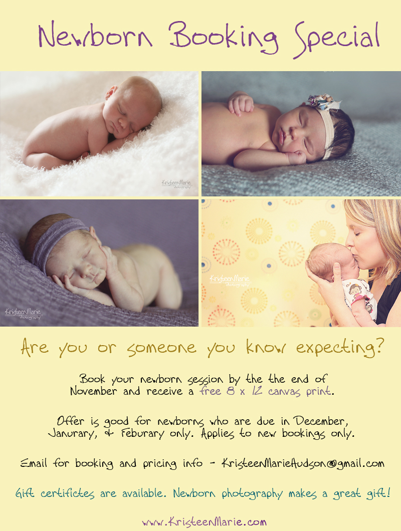 newborn photography specia