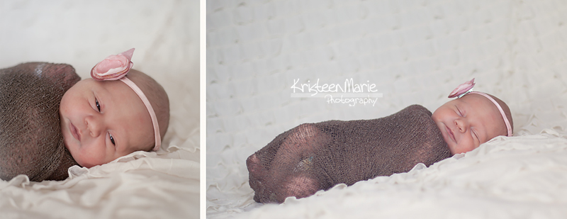cream lace newborn