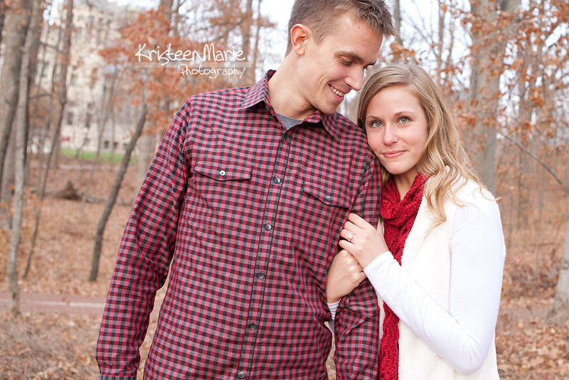 Engagement Picture in Bloomington