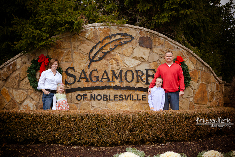 Family pictures at Sagamore