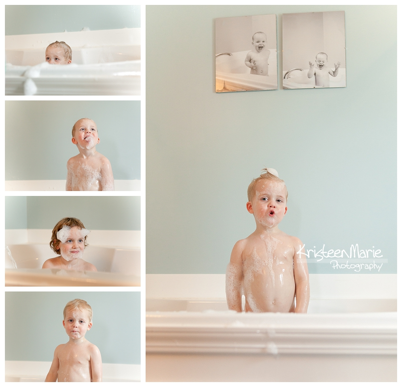 Kiddos in a bathtub
