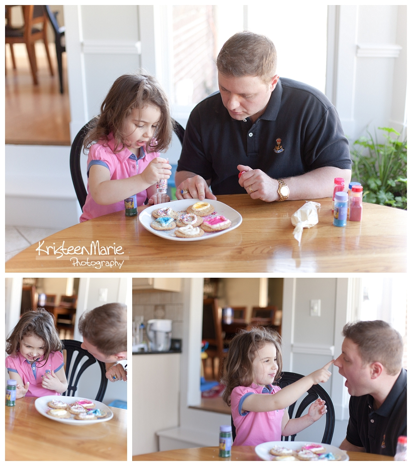 Making Cookies with Dad