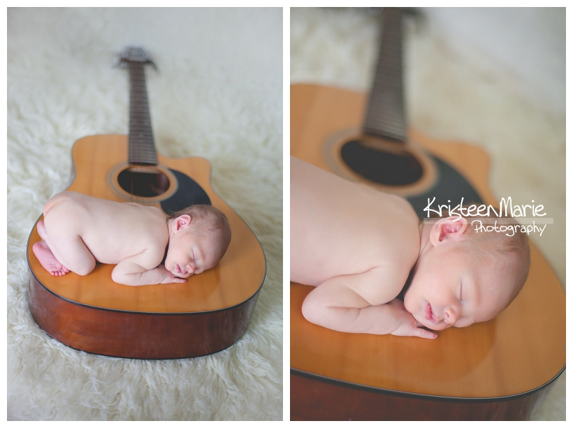 Newborn on Guitar