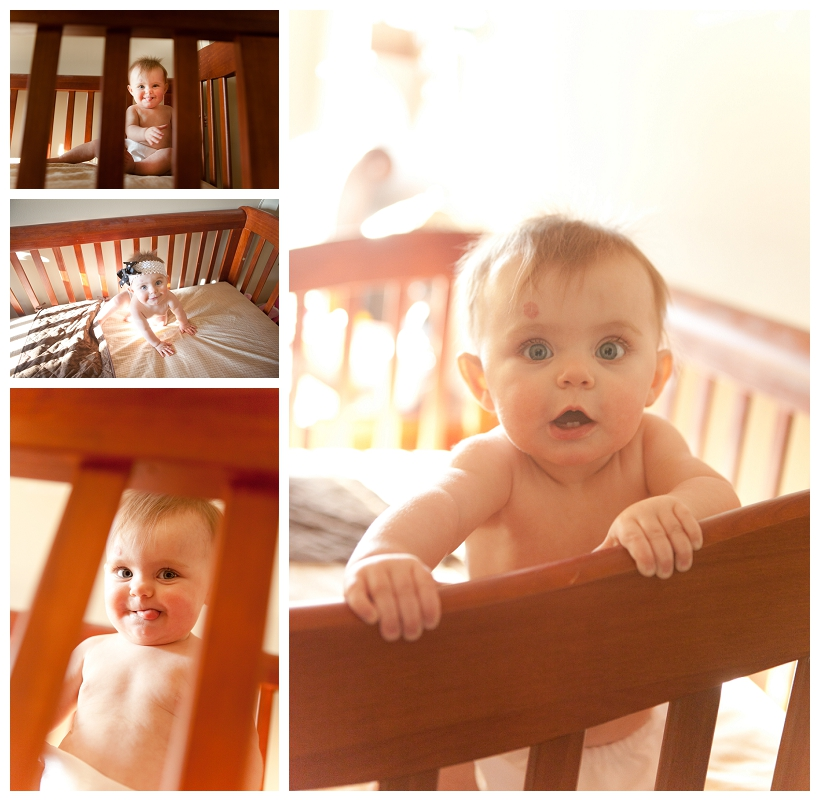 lifestyle photography in crib