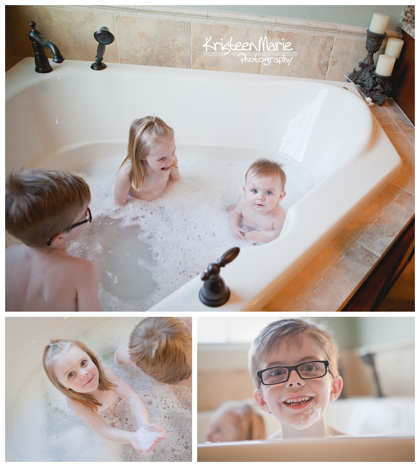 Bath time - lifestyle photography