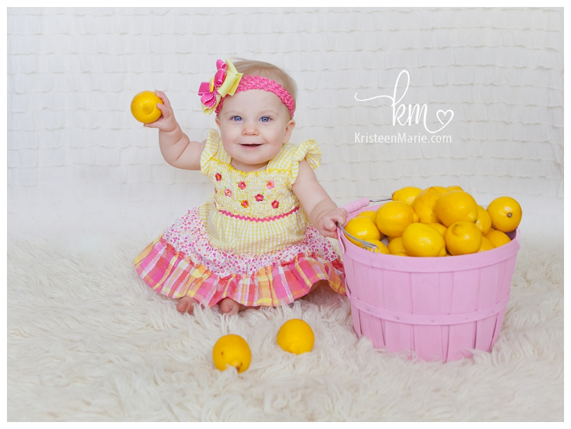 Lemonade 1st Birthday Picture