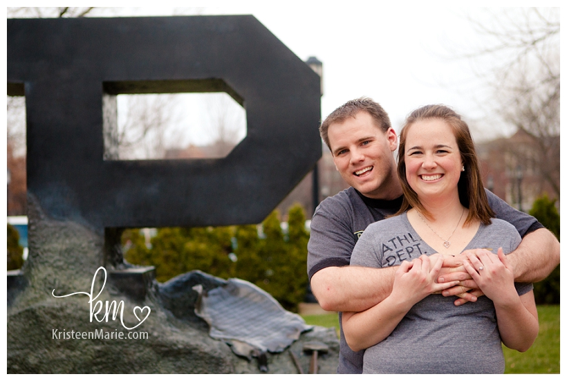 Engagement Picture at Purdue University