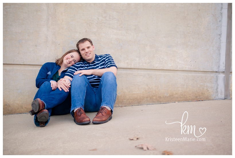 West Lafayette Engagement Picture