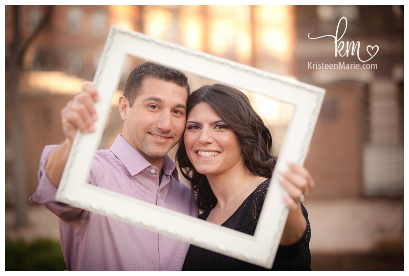 Frame engagement picture