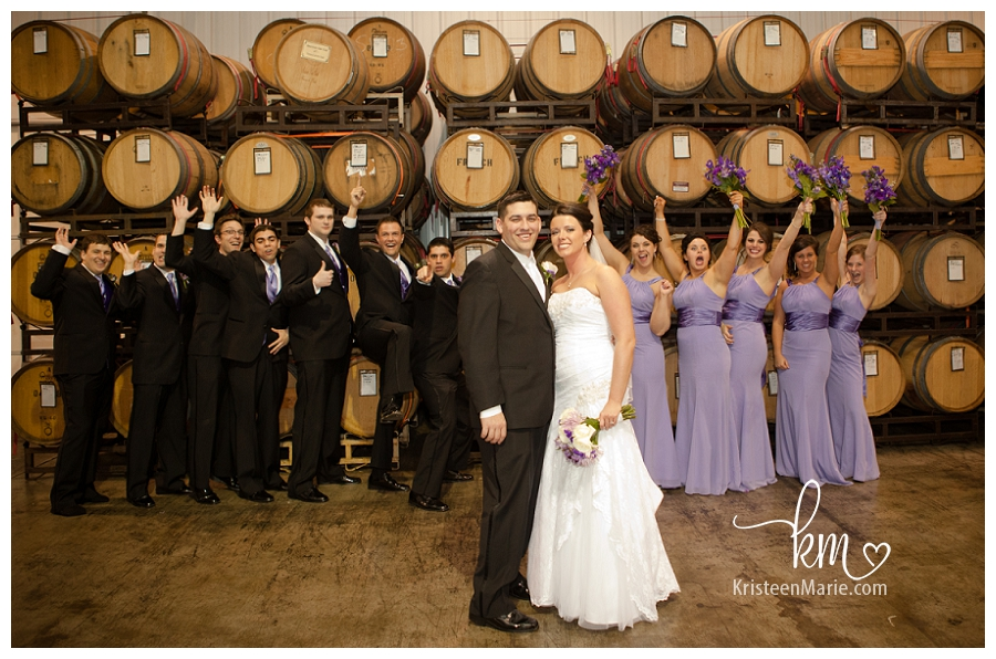 Wedding at Chateau Thomas Winery