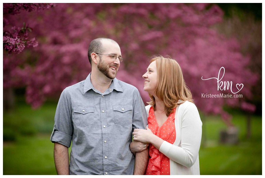 Holcomb Gardens Engagement Picture
