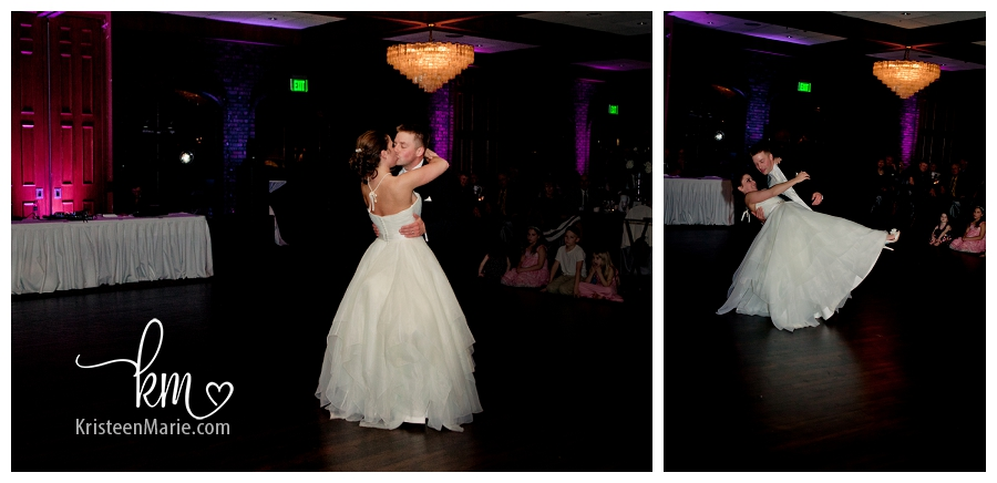 Frist dance with Bride and Groom