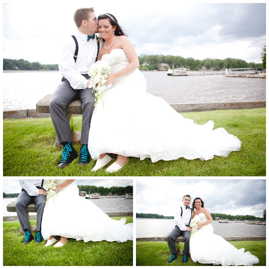 Lake Shafer Wedding Photography in Monticello Indiana