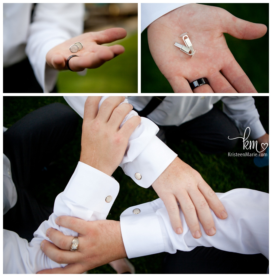 bridal cuff links