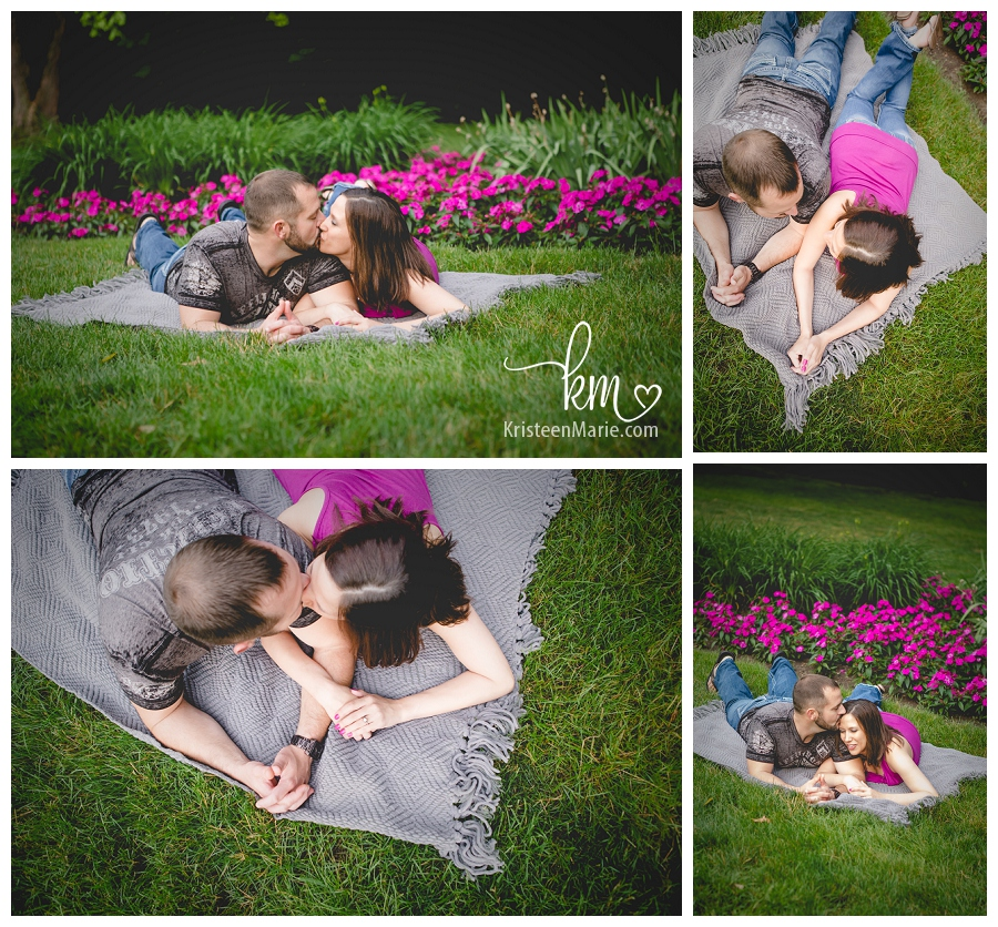 real engagement photography in Broadripple