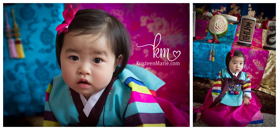 Cleos Dol Traditional Korean First Birthday Party