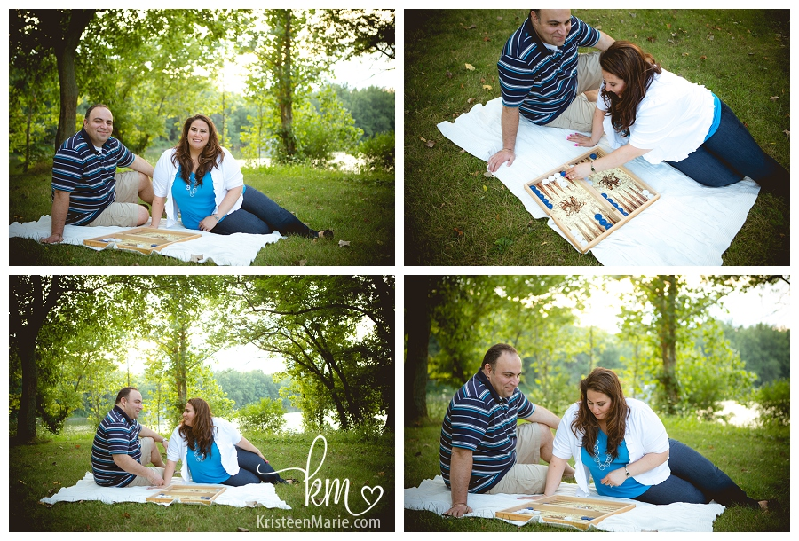 engagement picture playing game