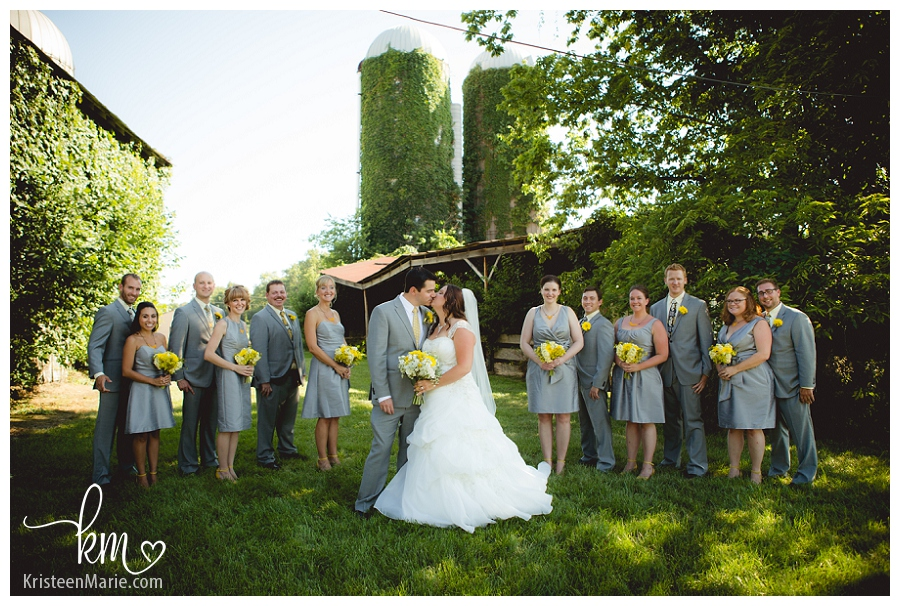 Park house farm wedding