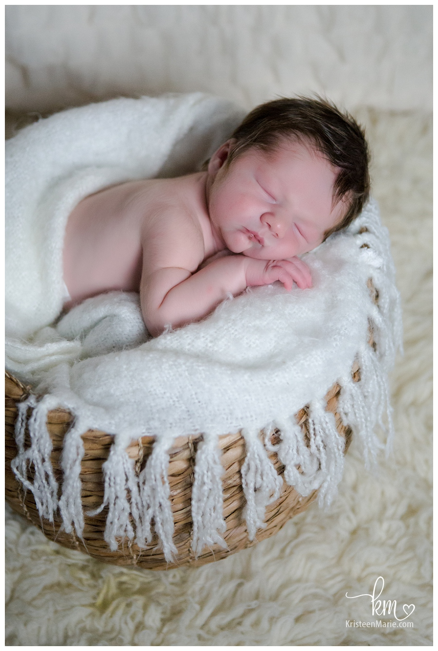 Sports Themed Newborn Photography Session