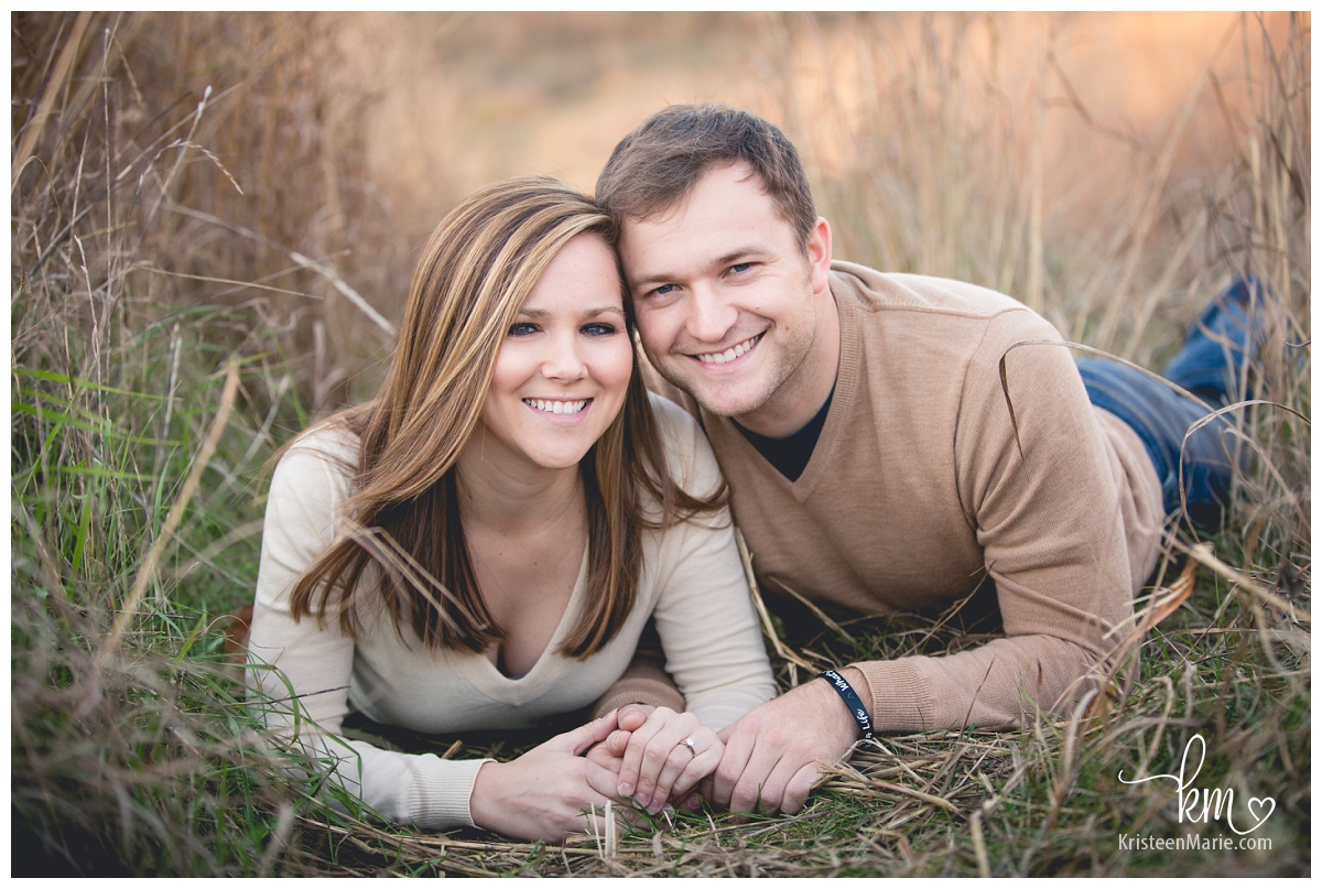 engagement photography in brush