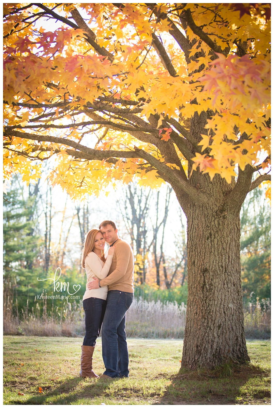 Katlyn Amp Deerl Indianapolis Fall Engagement Photography