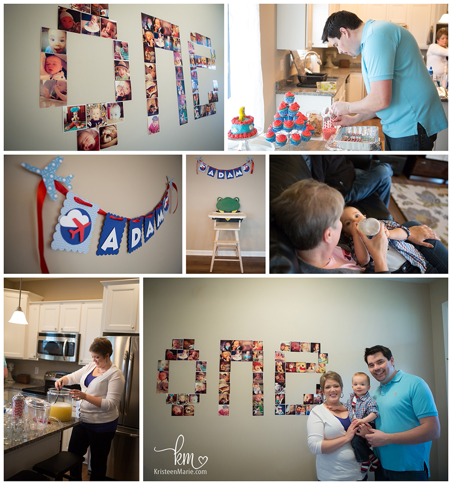 First Birthday Party for Boy
