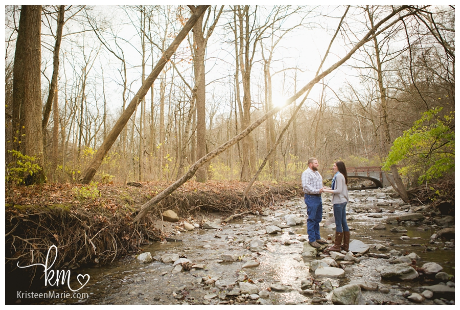 Indianapolis Engagement Photography in the Fall