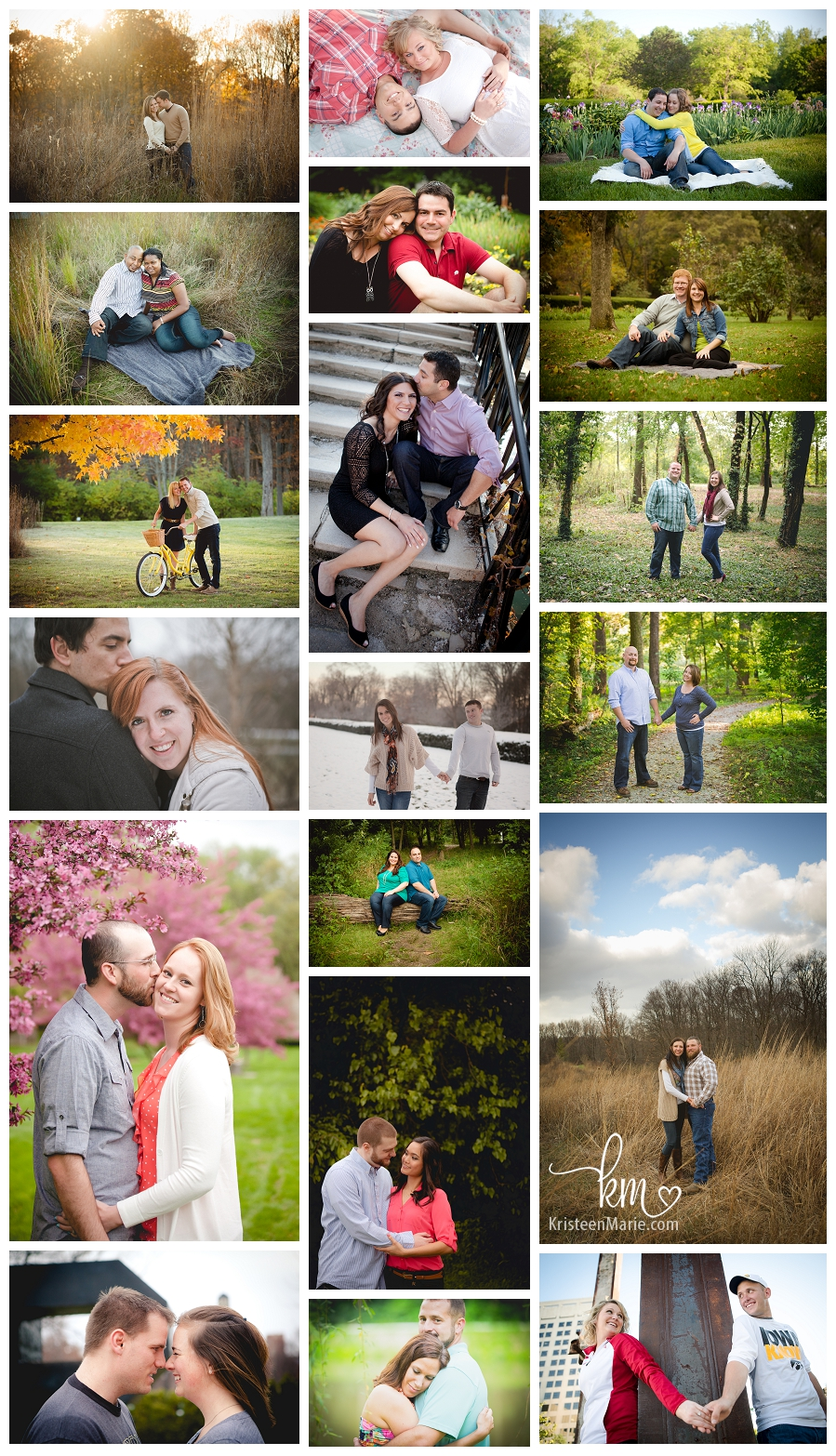 Engagement photography in Indianapolis