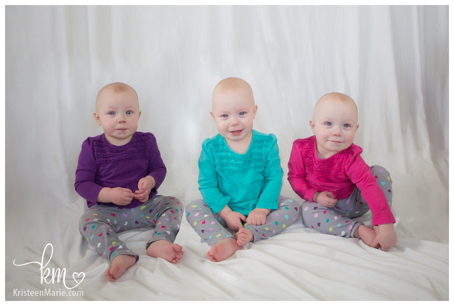 triplet girls - Indianapolis Photography