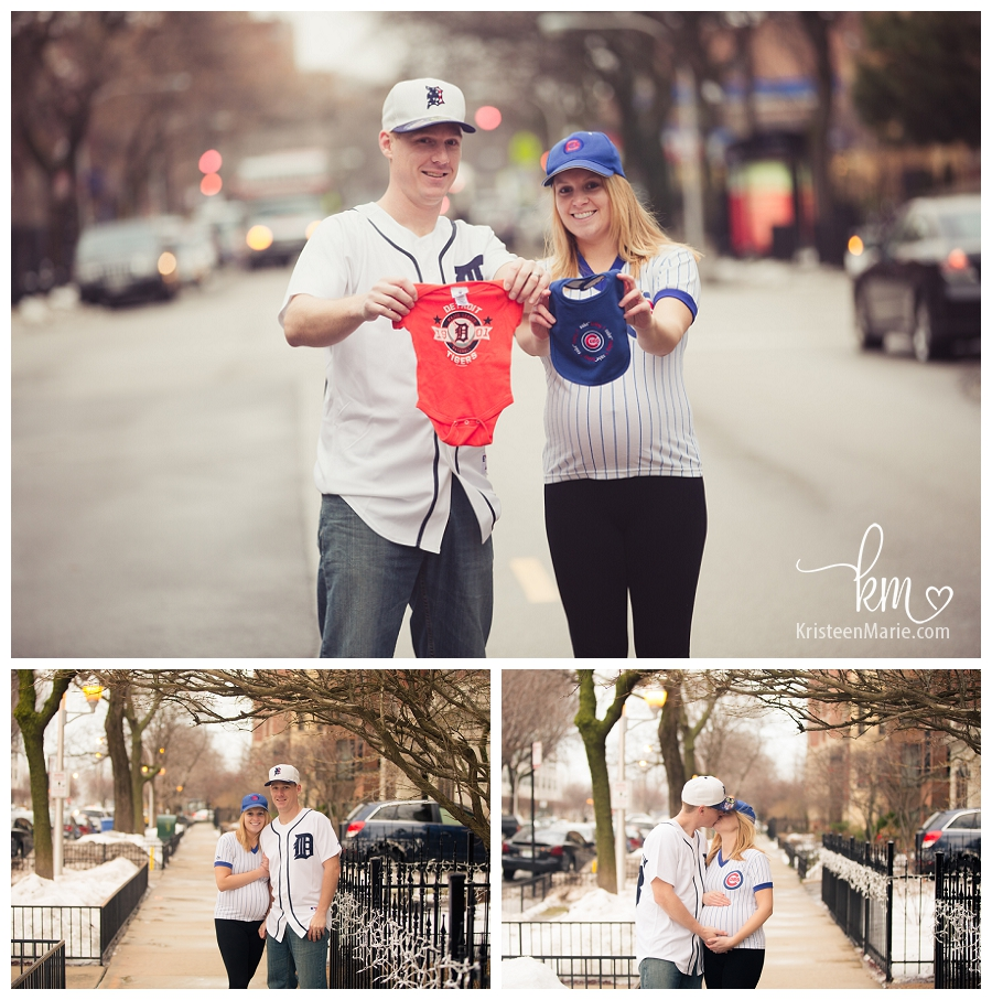 Downtown Chicago Maternity Photography