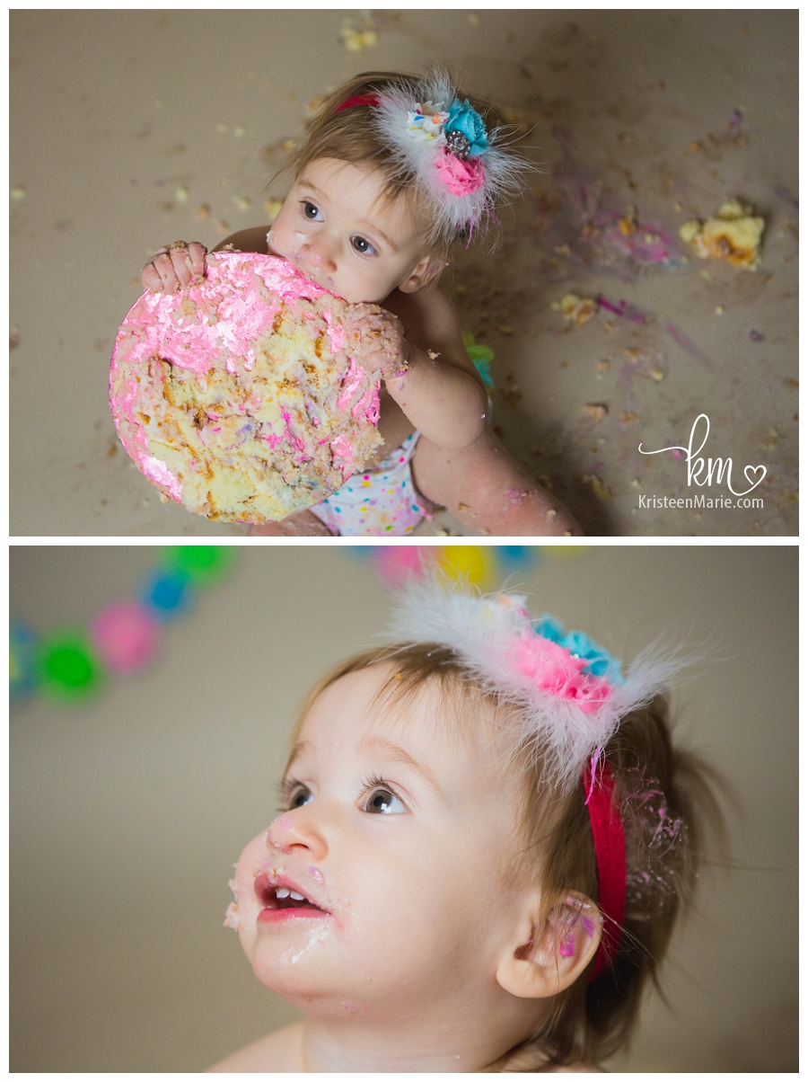 epic mess with cake