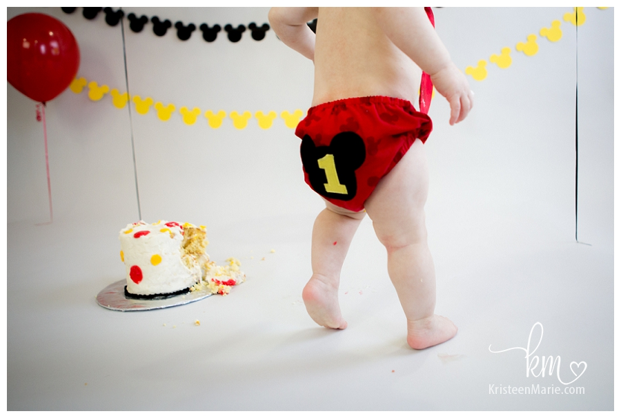 Mickey Mouse Diaper Cover