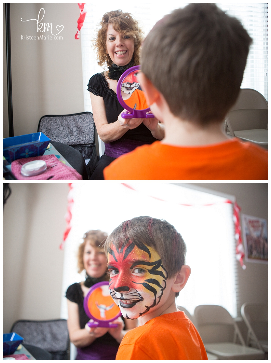 Circus Animal Face Painting