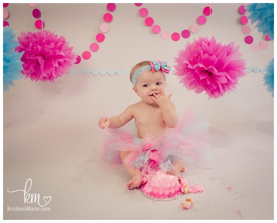 1st birthday photography in Indianapolis