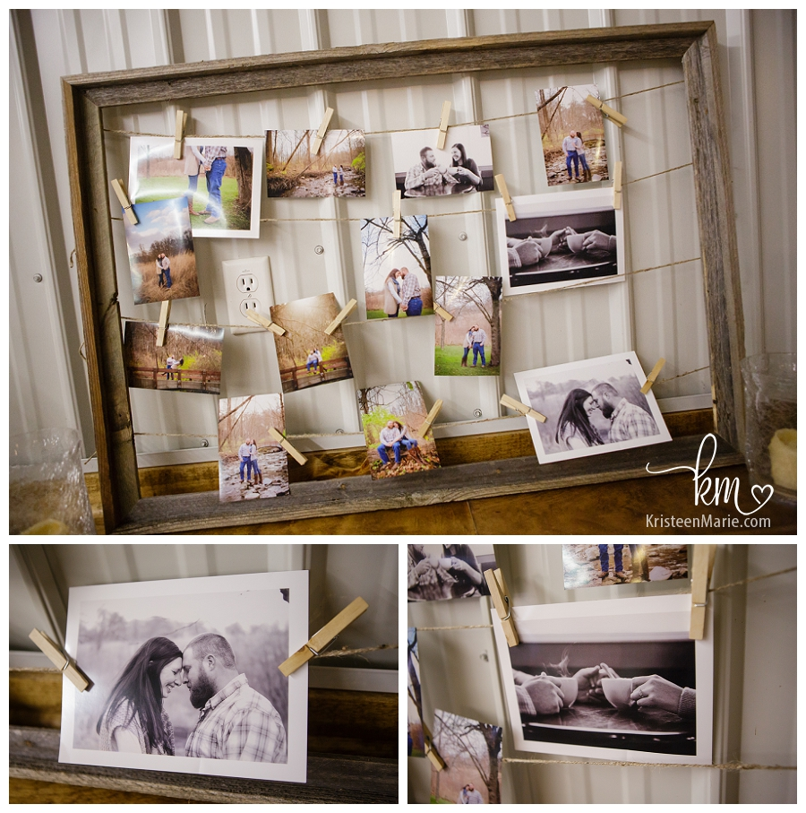Pictures at wedding