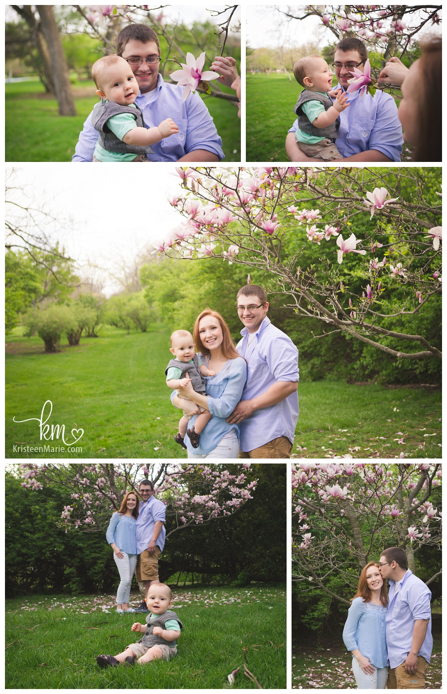 Spring time outdoor pictures in Indianapolis