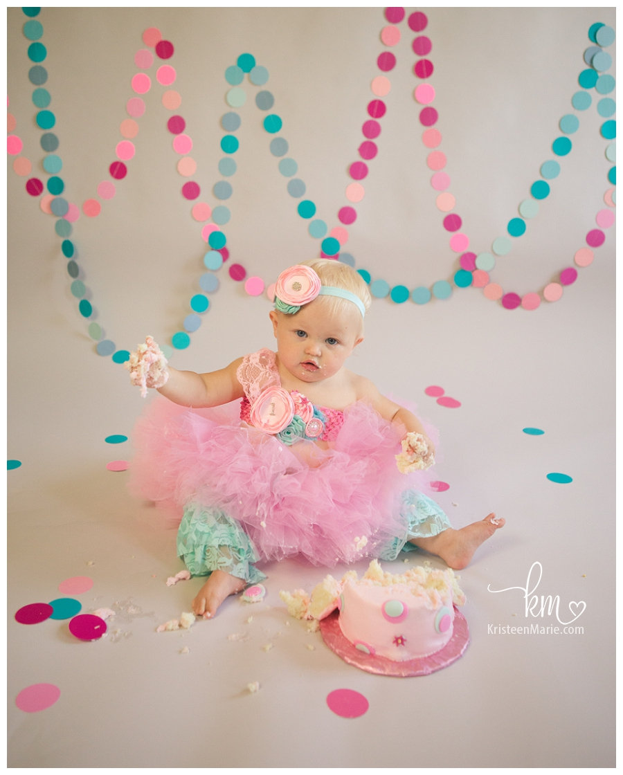 Indianapolis Cake Smash Photography